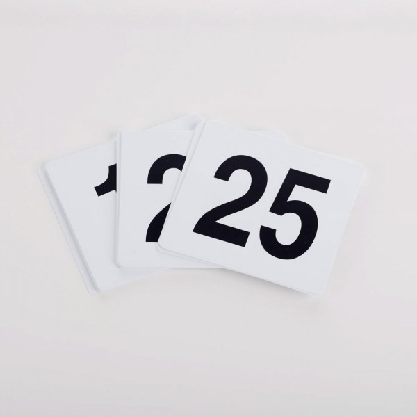 Table Stand Numbers - each