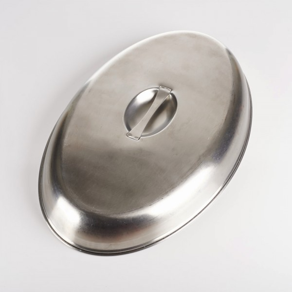 """20"""" Dish Lid, Stainless"""
